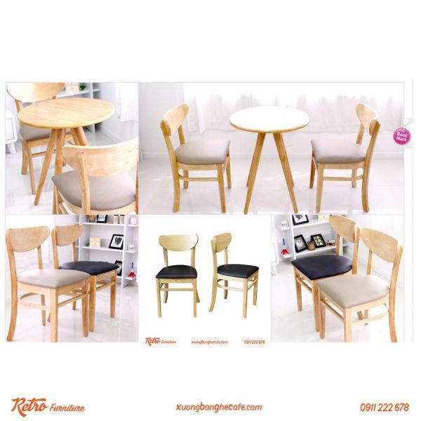 Bàn ghế cafe giá rẻ Retro Furniture