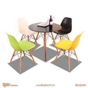 Bàn ghế quán cafe Eames