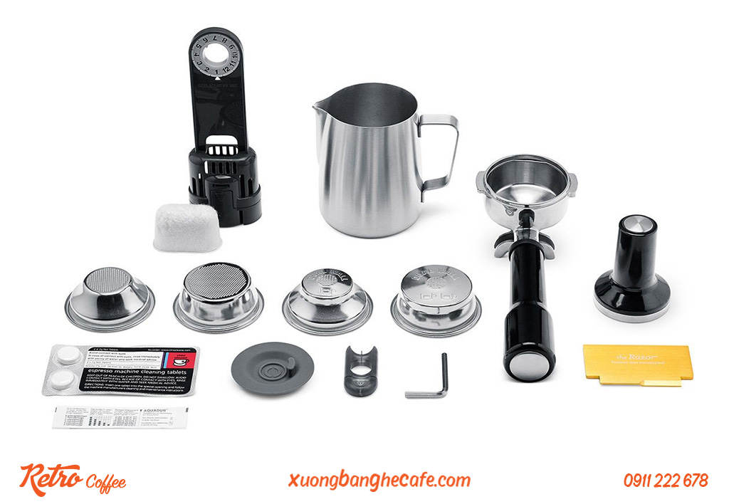 Phụ kiện máy pha cafe 01 group Breville 920