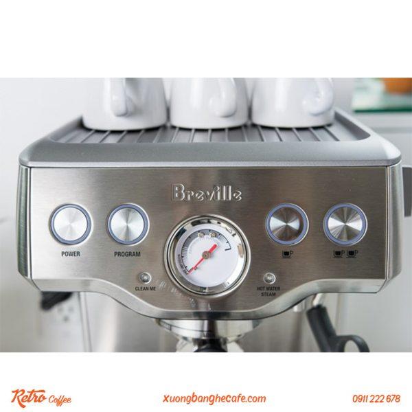 Máy pha cafe 01 group Breville với chế độ pha tự động