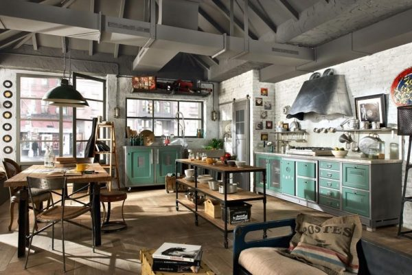 Bàn ghế cafe gỗ khung sắt